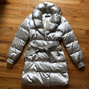 Women's Versace Parka Coat - Small